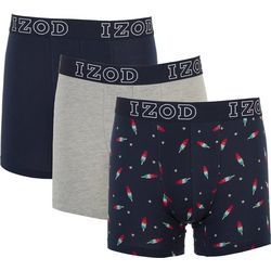 IZOD Mens 3-pk. Ice Pop Stretch Boxer Briefs