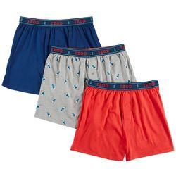 IZOD Mens 3-pk. Saltwater Knit Boxers