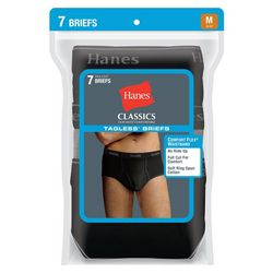 Hanes Mens 7-pk. Full Rise Briefs