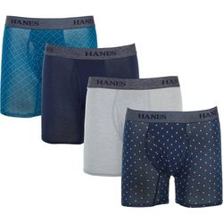 Hanes Mens 4-pk. Ultimate Stretch Boxer Briefs