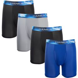 Hanes Mens 4-pk. X-Temp Air Long Leg Boxer