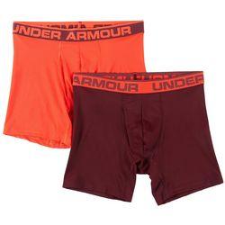Under Armour Mens 2-pk. UA Tech Mesh Solid Boxerjocks