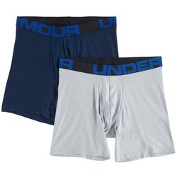 Under Armour Mens 2-pk. UA Tech Signature Short Boxerjocks