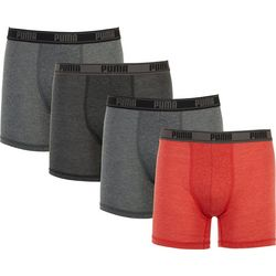 Puma Mens 3+1 Limited Edition Premium Blend Boxer Briefs
