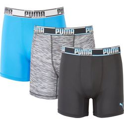 Puma Mens 3-pk. Sport Style CoolCell Boxer Briefs
