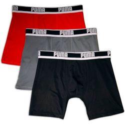 Puma Mens 3-pk. Athletic Boxer Briefs
