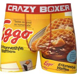 Crazy Boxer Mens Eggo Boxer Briefs