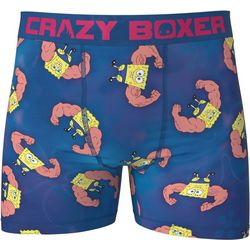 Crazy Boxer Mens Sponge Bob Boxer Briefs