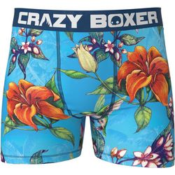 Crazy Boxer Mens Tropical Print Boxer Briefs