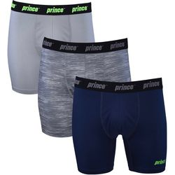 Prince Mens Athletic Performance 3-pk. Boxer Briefs