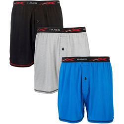 Hanes Mens 3-pk. X-Temp Active Cool Tagless Boxers