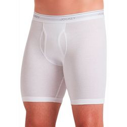 Jockey Mens Midway 3-pk. Solid StayCool+ Boxer Briefs