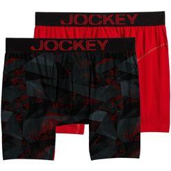 Jockey Mens 2-pk. RapidCool Boxer Briefs