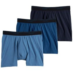 Jockey Mens 3-pk. Essential Fit MaxStretched Boxer Briefs