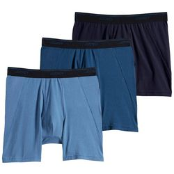 Jockey Mens 3-pk. Essential Fit MaxStretch Boxer Briefs