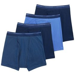 Jockey Mens 4-pk. Full-Rise StayNew Boxer Briefs
