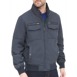 Tommy Hilfiger Mens Four-Pocket Performance Bomber Jacket