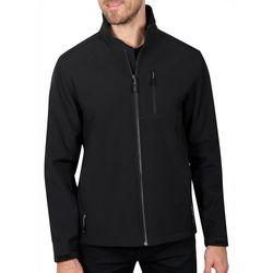 Haggar Mens Active Series Soft Shell Performance Jacket