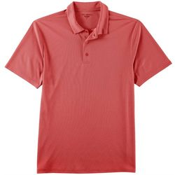 Golf America Mens Solid Performance Polo Shirt