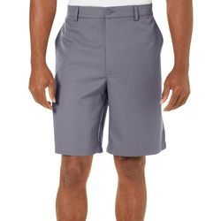 Golf America Mens Solid Flat Front Golf Shorts
