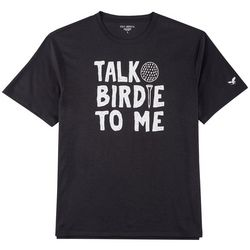 Golf America Mens Talk Birdie To Me T-Shirt