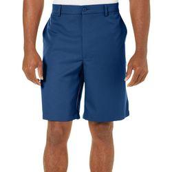 Golf America Mens Solid Golf Shorts
