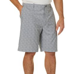 Golf America Mens Pixel Print Golf Shorts