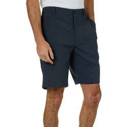 Golf America Mens Stripe Print Golf Shorts