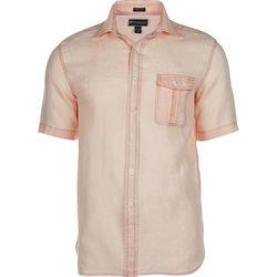 Weekender Mens Hana Short Sleeve Linen Shirt