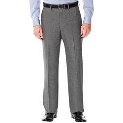 Mens Classic Fit Flat Front Suit Pants
