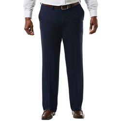 Haggar Mens Big & Tall Classic Flat Front Pants
