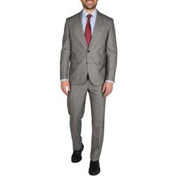 Dockers Grey Sharkskin Finished Bottom Suit