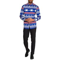 Opposuits Mens The Rudolph Christmas Shirt