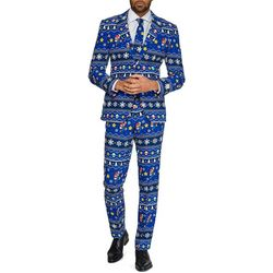 Mens Merry Mario Christmas Suit
