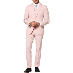 Opposuits Mens Lush Blush Solid Suit