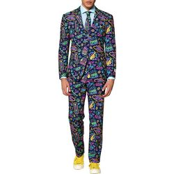 Opposuits Mens Mr. Vegas Casino Suit