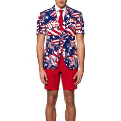 Mens Summer Mighty 'Murica Americana Suit