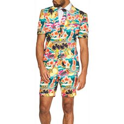 Opposuits Mens Summer Aloha Hero Tropical Suit