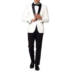 Opposuits Mens Pearly White Festive Tuxedo
