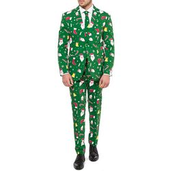 Opposuits Mens Santaboss 3-pc. Suit