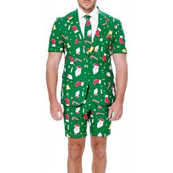 Opposuits Mens Santaboss 3-pc. Summer Suit