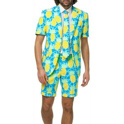 Opposuits Mens Shineapple 3-pc. Summer Suit