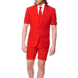 Opposuits Mens Red Devil 3-pc. Summer Suit