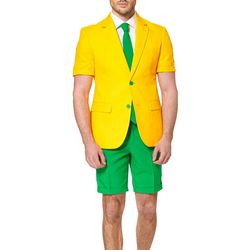 Opposuits Mens Green & Gold 3-pc. Summer Suit