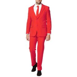 Mens Red Devil 3-pc. Suit