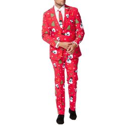 Opposuits Mens Christmaster 3-pc. Suit