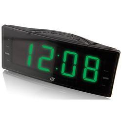 GPX C353B Large Display Dual Alarm Clock Radio