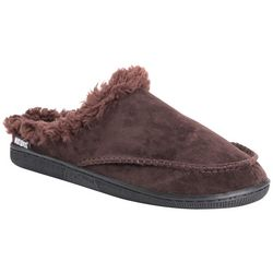 Muk Luks Mens Faux Suede Clog Slippers