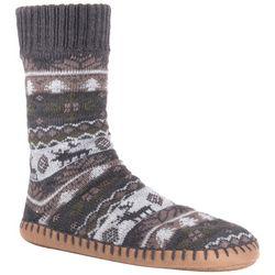 Muk Luks Mens Slipper Socks