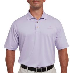 Pebble Beach Mens Solid Lodge Polo Shirt